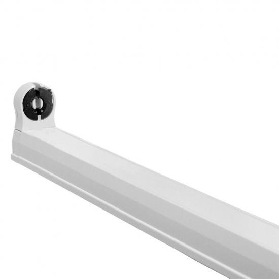 ART Oprawa dla TUB LED T8,150cm,AC230V,zasil.jednostr.opcja łączenia,biała
