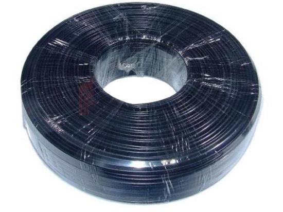 Gembird kabel telefoniczny 6-żyłowy, czarny, 100m (rolka, linka)