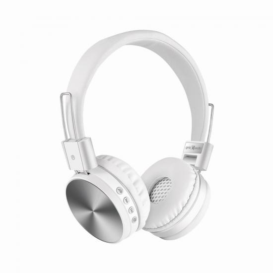 Gembird słuchawki ''Kyoto'' Bluetooth, stereo, mikrofon, kolor biały