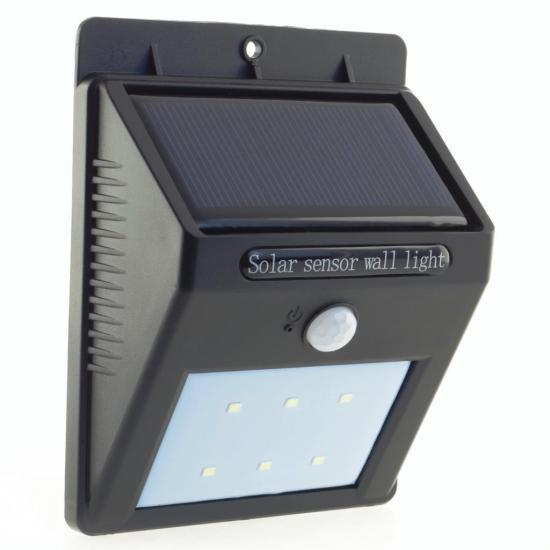 Kinkiet solarny PowerNeed SL09P 80lm 1W