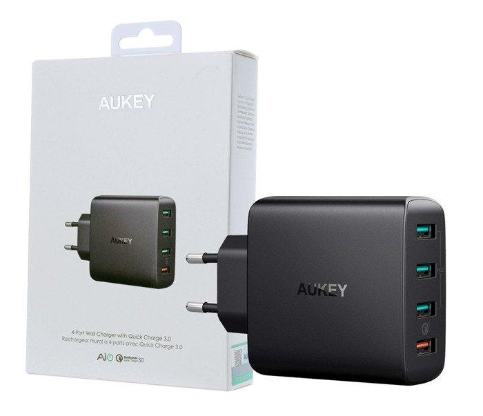 Ładowarka AUKEY PA-T18 42W 7.8A 4 x USB-A QC 3.0