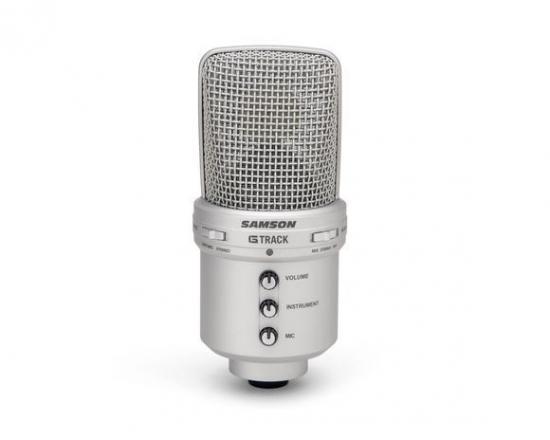 Mikrofon pojemnościowy SAMSON G-Track USB