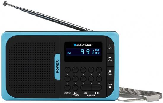 Przenośne radio MP3 USB SD Blaupunkt akumulator