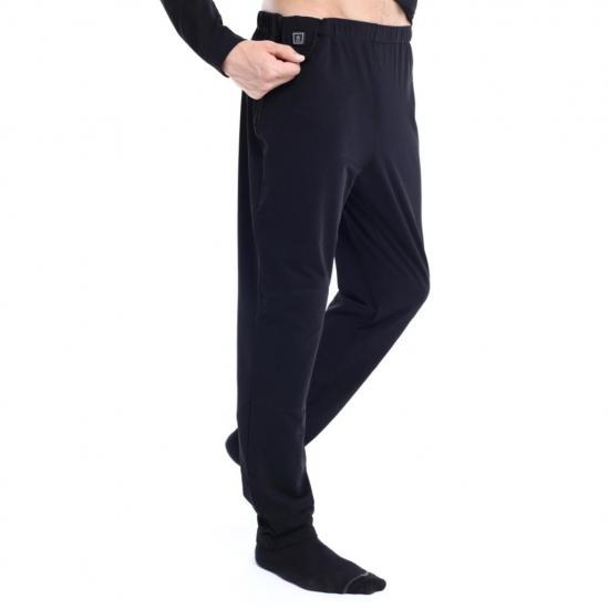 Spodnie ogrzewane termoaktywne Glovii GP1 czarne L