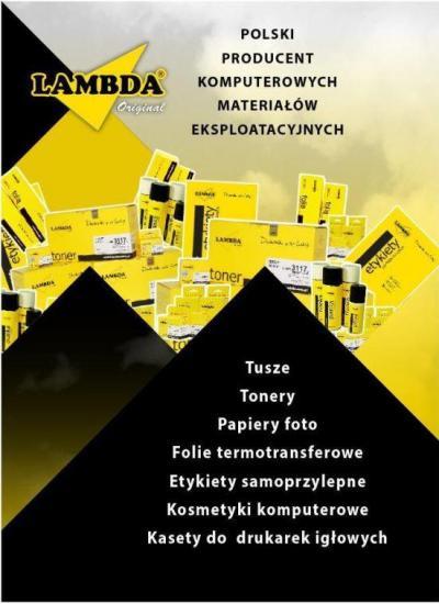 Toner Lambda czarny | HP Q5949X | HP LJ 1320