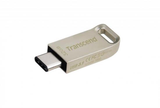 Transcend USB 32GB Jetflash 850 USB 3.1 Gen 1, Silver